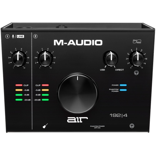 M-Audio Air 192|4, 2-In/2-Out USB Audio Interface
