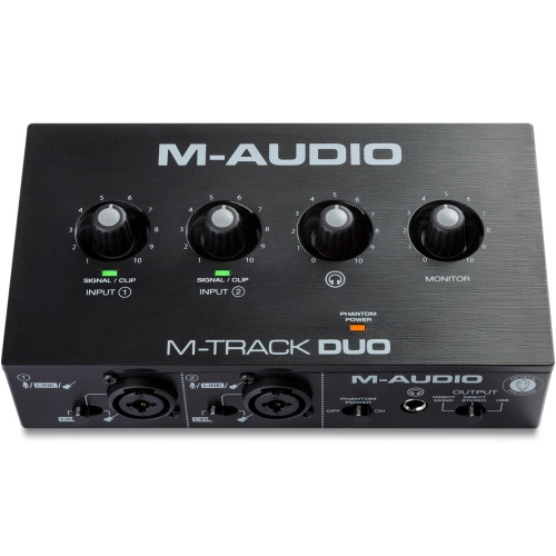 M-Audio M-Track Duo, 2-Channel USB Audio Interface