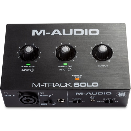 M-Audio M-Track Solo, 2-Channel USB Audio Interface