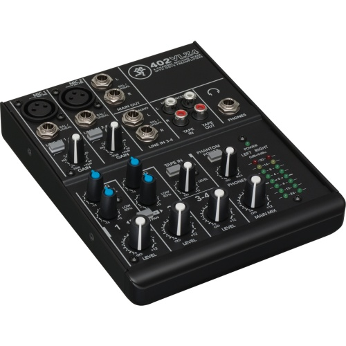 Mackie 402-VLZ4, 4 Channel Analogue Compact Mixer