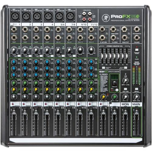 Mackie ProFX12v2, 12 Channel Professional Effects Mixer