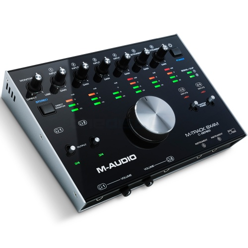 M-Audio M-Track 8X4M, 8-In/4-Out, 192kHz, USB Audio/MIDI Interface