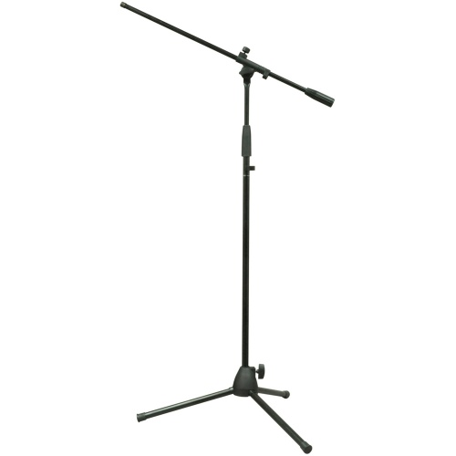 NJS Microphone Stand With Tripod Legs & Threaded Boom Arm (NJS066)
