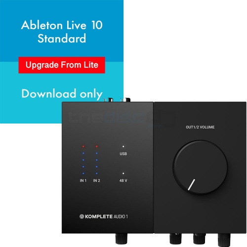 Native Instruments Komplete Audio 1 + Ableton Live 10 (Download)
