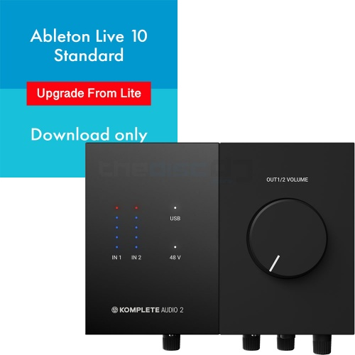 Native Instruments Komplete Audio 2 + Ableton Live 10 (Download)