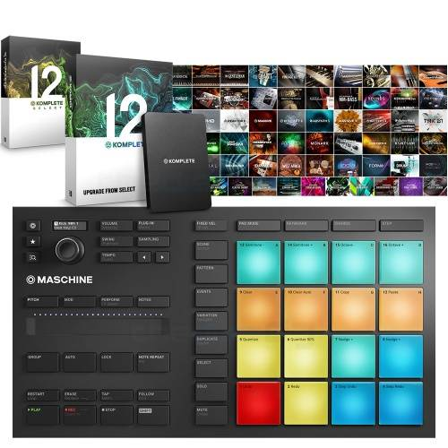 NI Maschine Mikro MK3 + Komplete 12 Full Version