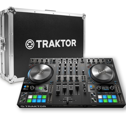 ​Native Instruments Traktor Kontrol S4 MK3 + Official Flightcase Bundle