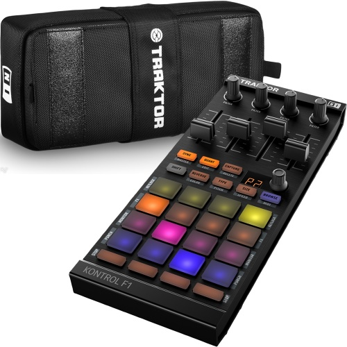 Native Instruments Traktor Kontrol F1 Controller + Official Carry Case