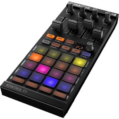 Native Instruments Traktor Kontrol F1 for Remix & Stem Deck Control