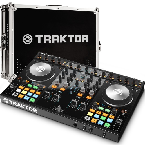 Native Instruments Traktor Kontrol S4 MK2 + Official Flight Case Bundle