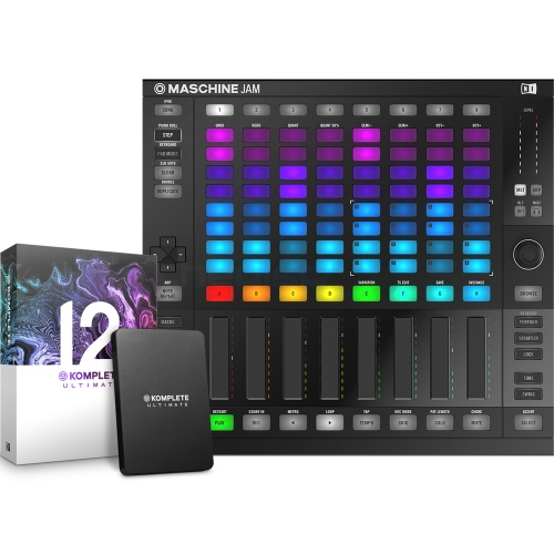 Native Instruments Maschine Jam + Komplete 12 Ultimate Bundle