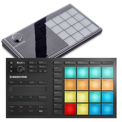 Native Instruments Maschine Mikro MK3 + Decksaver Bundle Deal