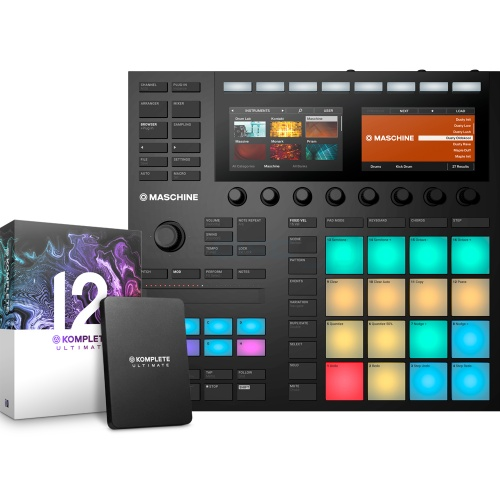 Native Instruments Maschine MK3 + Komplete 12 Ultimate
