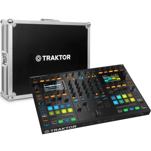 Native Instruments Traktor Kontrol S8 + Official Flightcase Bundle