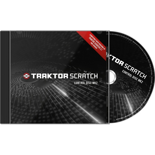 Native Instruments Traktor Scratch Control Disc MK2 (Pair)