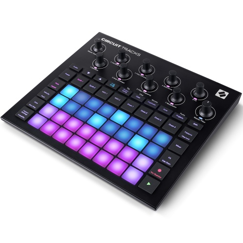 Novation Circuit Tracks, Battery Powered Groovebox, All-In-One Studio
