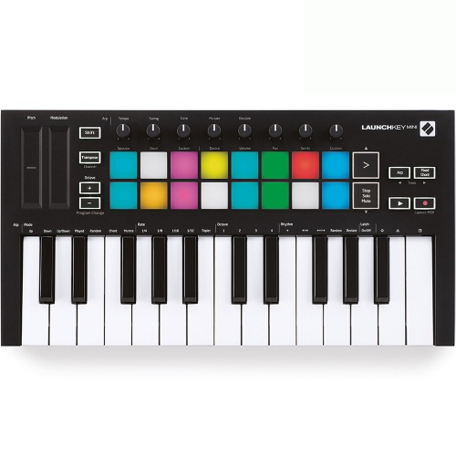 Novation Launchkey Mini MK3, 25-Key USB MIDI Controller Keyboard