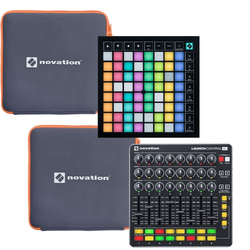 Novation Launchpad X, Control XL MK2, Ableton Lite + Free Sleeves
