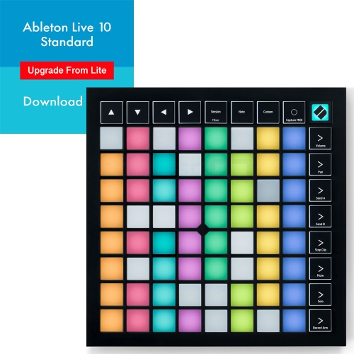 Novation Launchpad X + Ableton Live 10 Standard Full Version