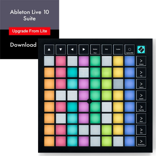 Novation Launchpad X + Ableton Live 10 Suite Full Version