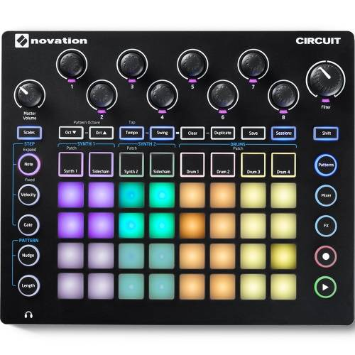 Novation Circuit Nova Synth, Drum Machine and Step Sequencer
