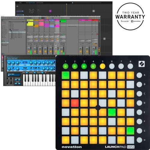 Novation Launchpad Mini MK2, 64 Button Ableton Live Controller