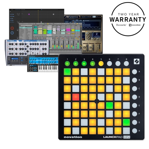 Novation Launchpad Mini MK2, 64 Button Ableton Live Controller (B-Stock)