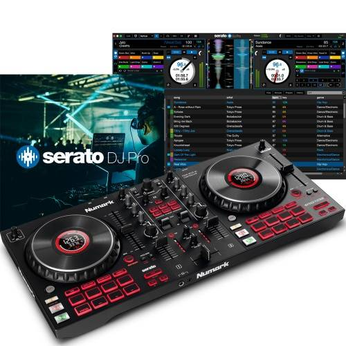 Numark Mixtrack Platinum FX, 4-Decks + Serato DJ Pro Full Version