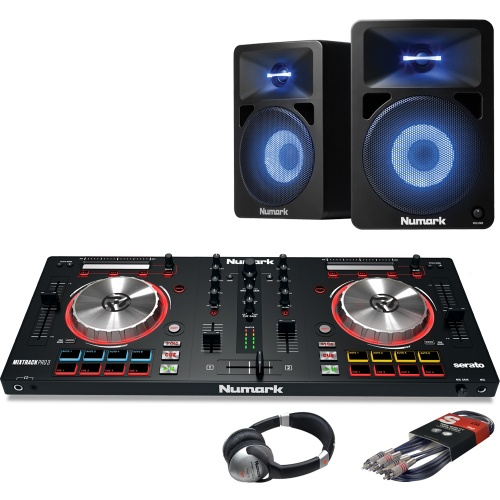 Numark Mixtrack Pro MK3, Numark 580L Speaker & Headphone Bundle