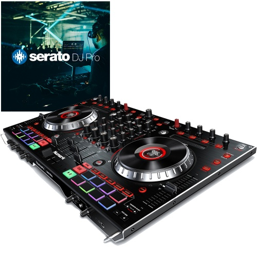 Numark NS6II, 4 Channel DJ Controller inc. Serato DJ Full Version