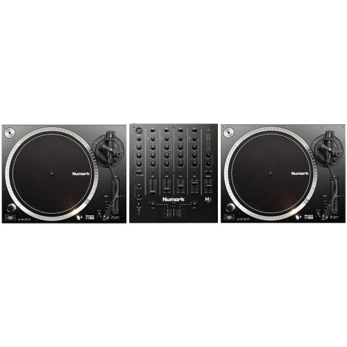 Numark NTX1000 DJ Turntables + M6 USB Mixer Bundle