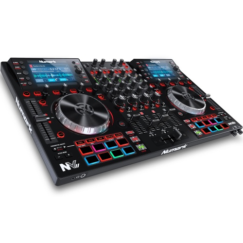Numark NVII DJ Controller, Built In Displays, Serato DJ Full Version