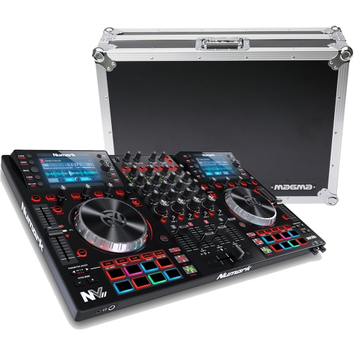 Numark NVII DJ Controller, Serato DJ Full Version + Magma Flight Case