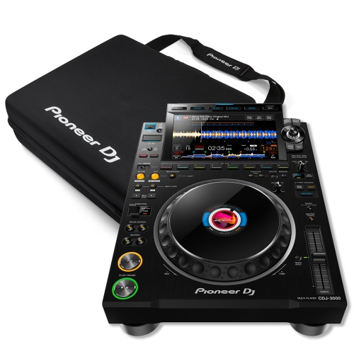Pioneer DJ CDJ-3000 Pro DJ Multi-Player (Single) + DJC-3000 Carry Bag