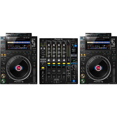 Pioneer DJ CDJ-3000 Players (Pair) + DJM-900 Nexus MK2 Mixer Bundle Deal