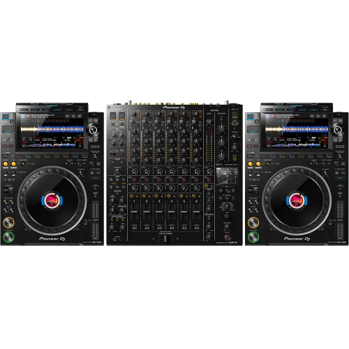 Pioneer DJ CDJ-3000 Players (Pair) + DJM-V10 Mixer Bundle Deal