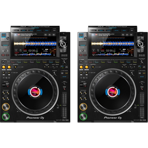 Pioneer DJ CDJ-3000 Professional DJ Multi-Player (Pair)