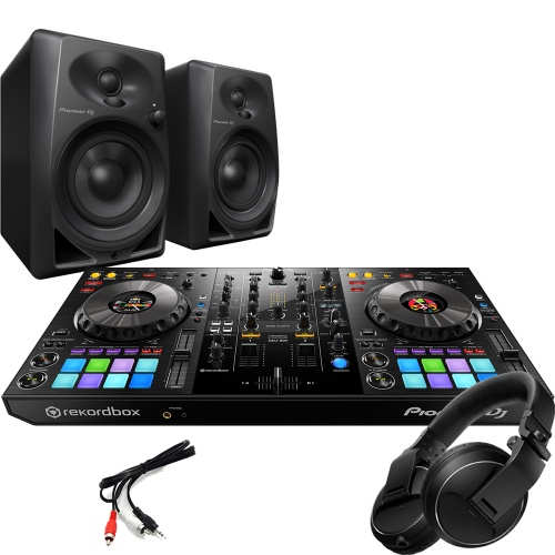 Pioneer DDJ-800, DM-40 Speakers & HDJ-X Headphones Bundle Deal