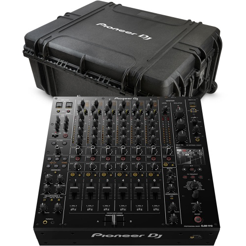 Pioneer DJM-V10 Mixer & The Official DJRC-V10 Travel Case Bundle Deal