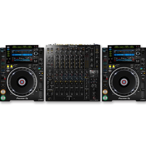Pioneer CDJ-2000 NXS2 (Pair) + DJM-V10 Mixer Bundle Deal