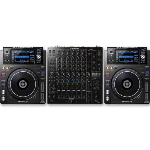 Pioneer XDJ-1000 MK2 (Pair) + DJM-V10 Mixer Bundle Deal