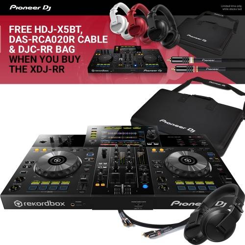 ​Pioneer XDJ-RR + Free Carry Case, Free Bluetooth Headphones & Cables