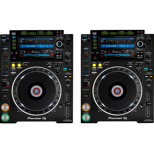 Pioneer CDJ-2000 Nexus MK2 Multimedia DJ Player & Controller (Pair)
