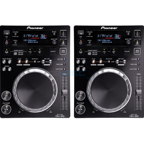 ​Pioneer CDJ-350 CD/MP3/USB/MIDI Multimedia DJ Player (Pair)