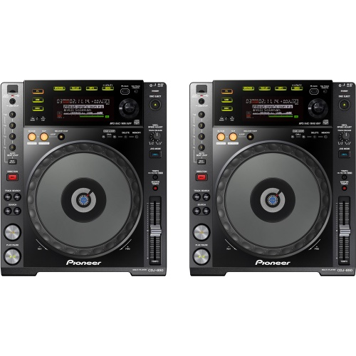 Pioneer CDJ-850-K CD/MP3/USB Multimedia DJ Player (Pair)