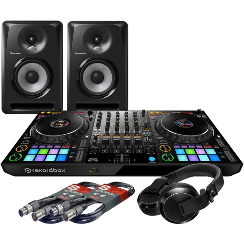 Pioneer DDJ-1000, S-DJ50X Monitors + HDJ-X7 Headphones Bundle