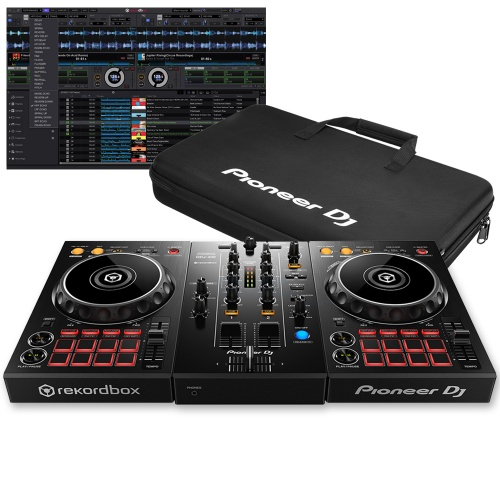 Pioneer DDJ-400 Controller + Free Carry Bag, Rekordbox DJ Full Version