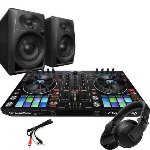 Pioneer DDJ-RR DJ Controller, DM-40 Monitors and HDJ Headphones Deal