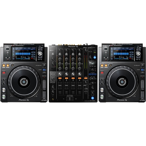 2 x Pioneer XDJ-1000 MK2 & DJM-750 MK2 Bundle Deal