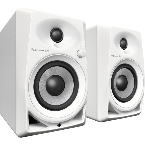 Pioneer DM-40 White 4'' Active DJ Monitors